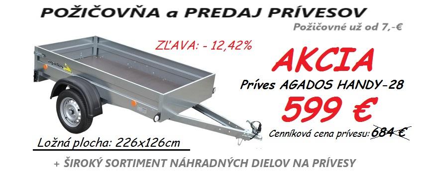 Akcia prives Agados HANDY-28
