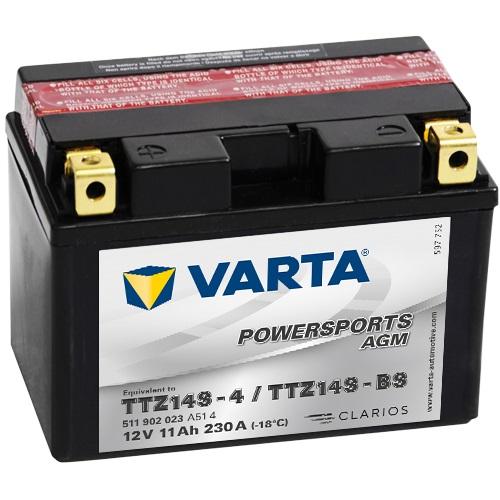 12V/11Ah 230A Varta 511902023 AGM