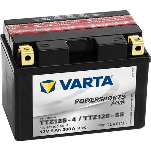 12V/9Ah 200A Varta 509901020 AGM