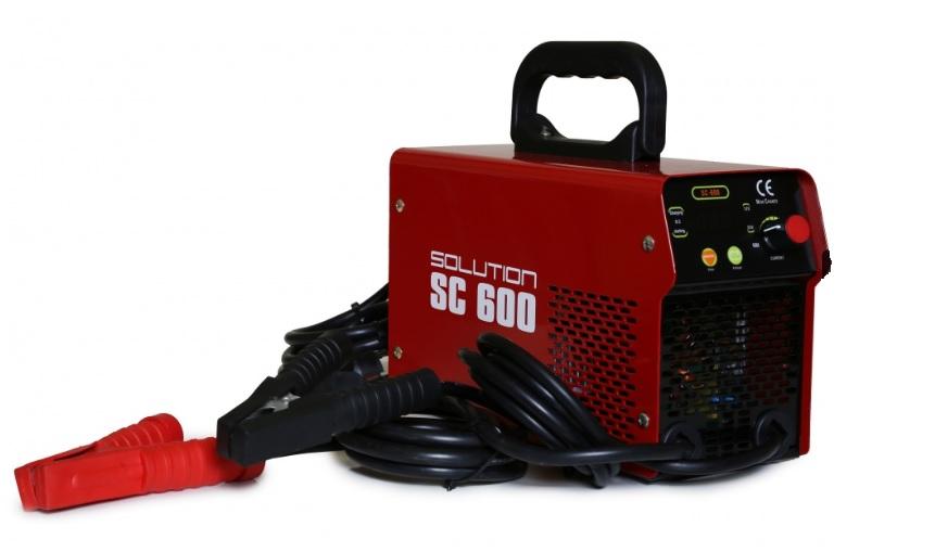 SC-600 Invertorová nabíjačka 12-24V so štartom 600A