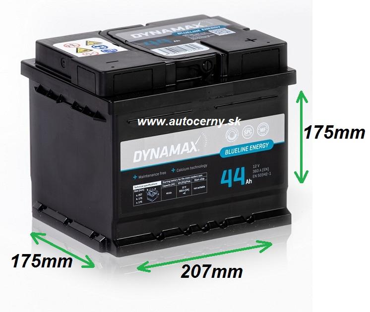 Dynamax Blueline 12V/44Ah 360A