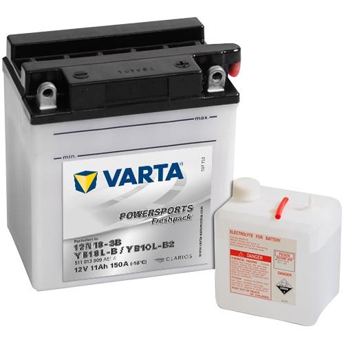 12V/11Ah 90A Varta 511013009