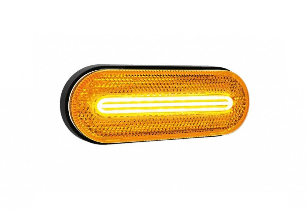 LED pozičné svetlo FT070Z - oranžové 12/24V