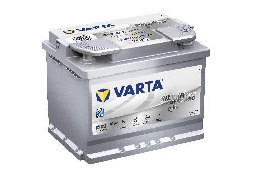 12V/60Ah - 680A **Varta SILVER AGM 560901068** Štart-Stop