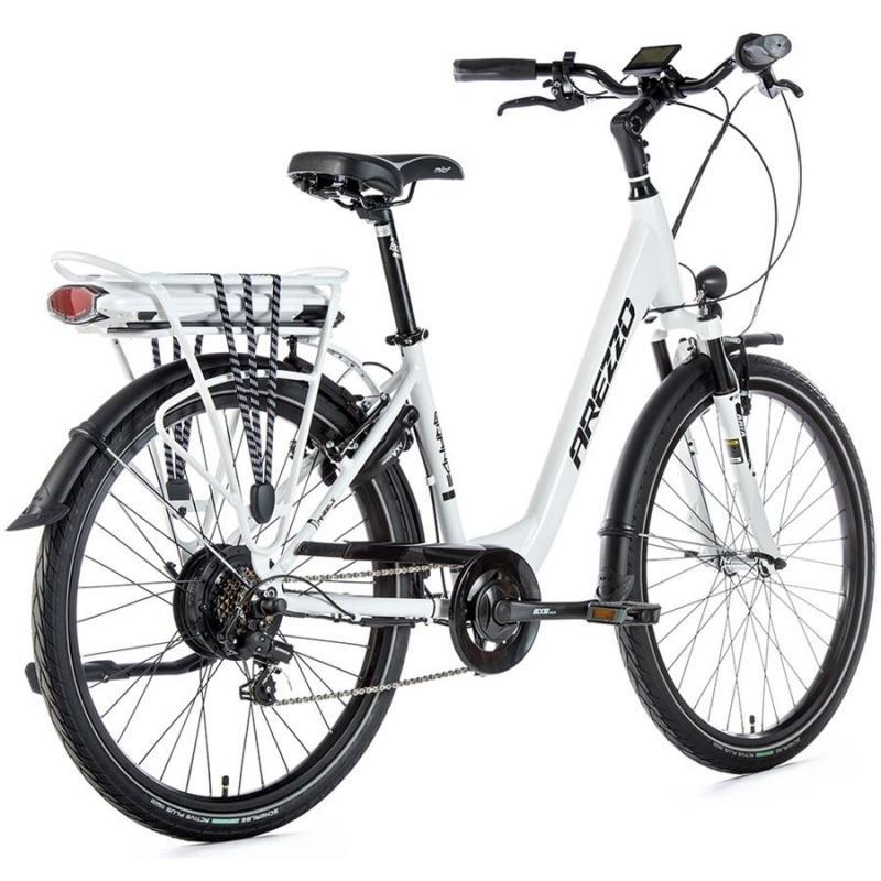 E-bike Leaderfox AREZZO GRANDE 36V/13Ah Biely matný rám:16,5