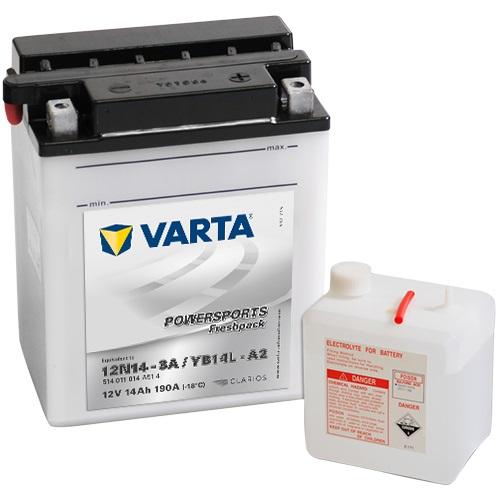 12V/14Ah 140A Varta 514011014