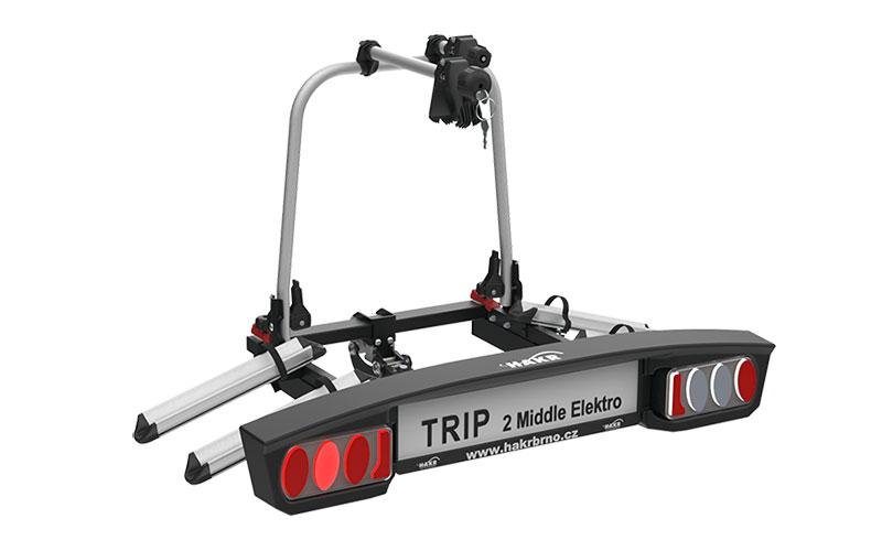 Nosič bicyklov Hakr TRIP 2 E-BIKE na ťažné zariadenie