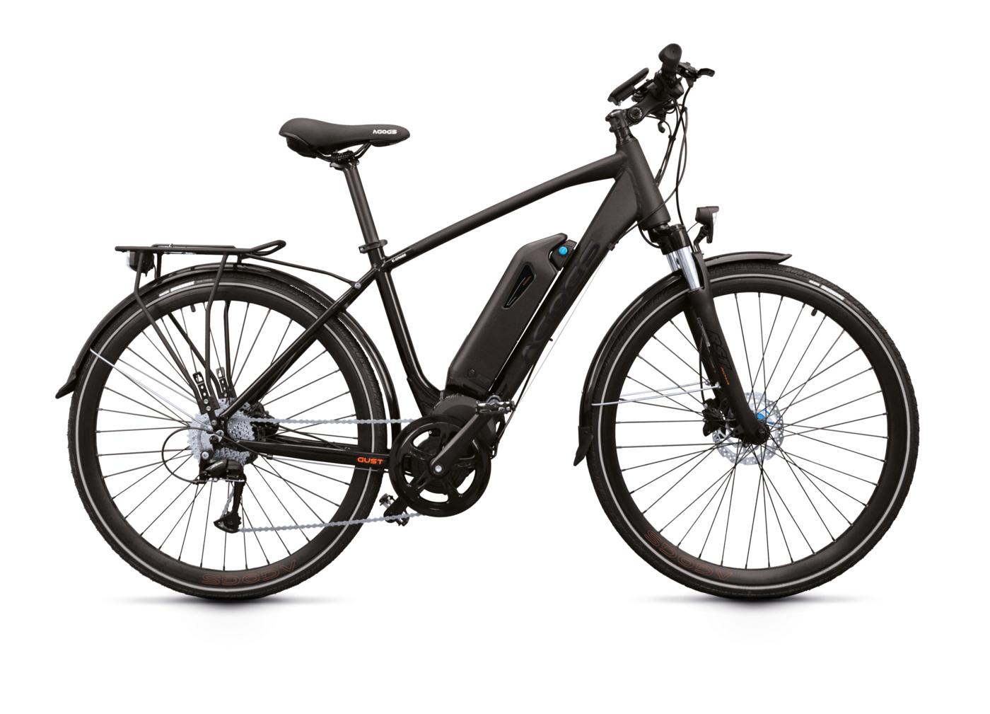 E-bike Agogs Gust - pánsky rám:21