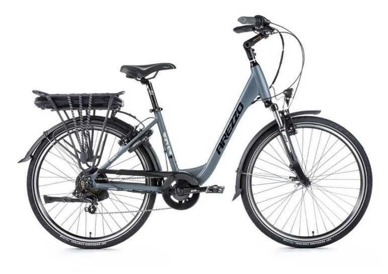 E-bike Leaderfox AREZZO GRANDE 36V/13Ah Šedý matný rám:16,5