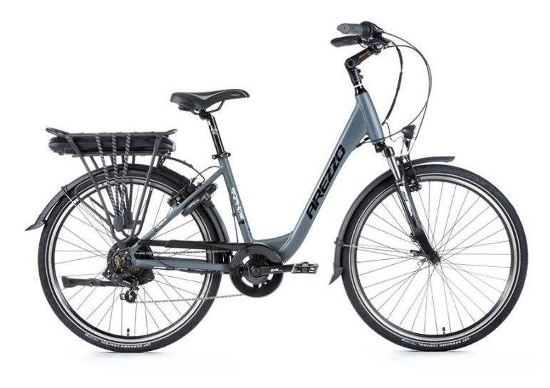 E-bike Leaderfox AREZZO GRANDE 36V/13Ah Šedý matný rám:18