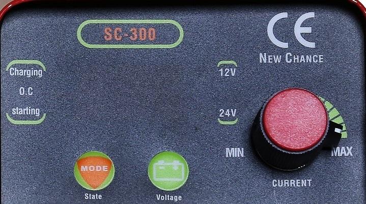 SC-300 Invertorová nabíjačka 12V-24V so štartom 300A