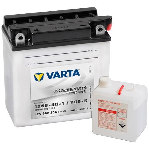 12V/9Ah 80A Varta 509014008