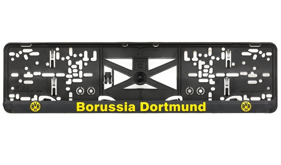 3D Držiak ŠPZ BORUSIA DORTMUND (2ks)