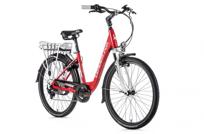 E-bike Leaderfox LATONA 36V/13Ah - červený rám:16,5