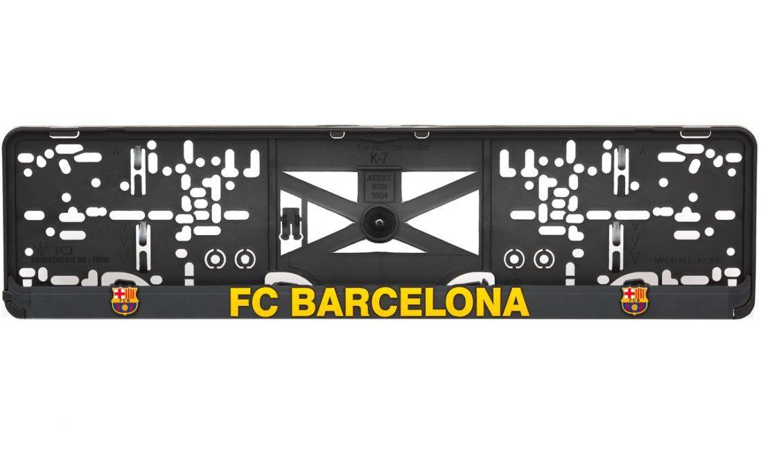 3D Držiak ŠPZ FC BARCELONA (2ks)