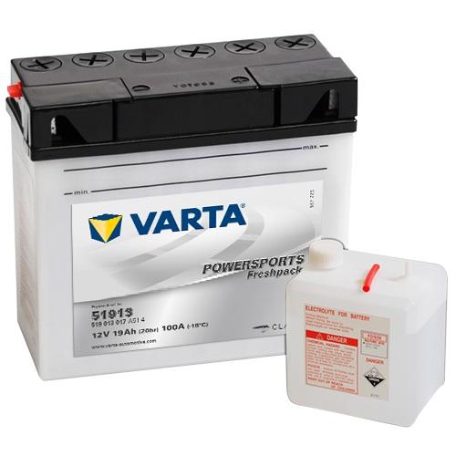 12V/19Ah 170A Varta 519013017