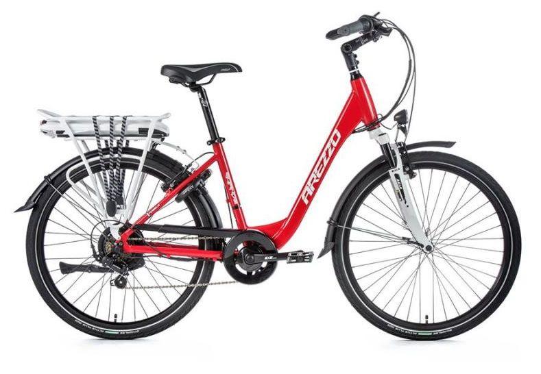 E-bike Leaderfox AREZZO GRANDE 36V/13Ah červený rám: 16,5
