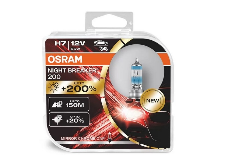 Osram H7 +200% Night Breaker 12V/55W (box)