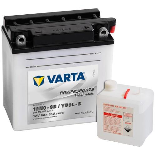 12V/9Ah 80A Varta 509015008 (pravý+)