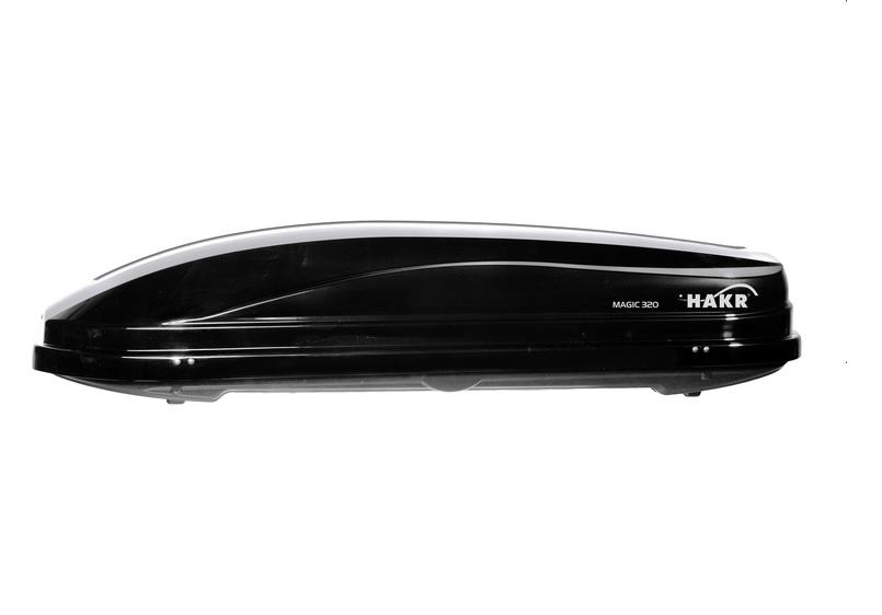 Box Hakr ML 320 - čierny lesklý