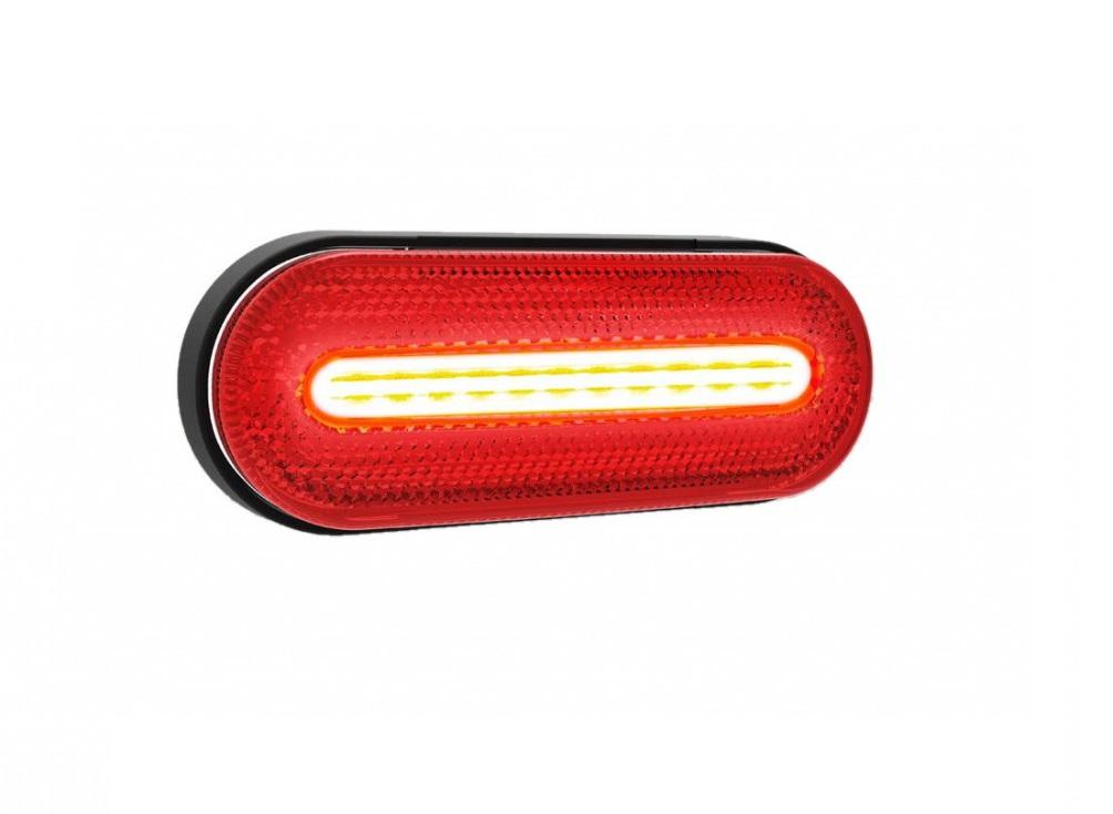 LED pozičné svetlo FT070Z - červené 12/24V