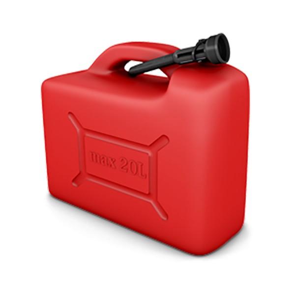 Bandaska - Kanister 20L na palivo červený
