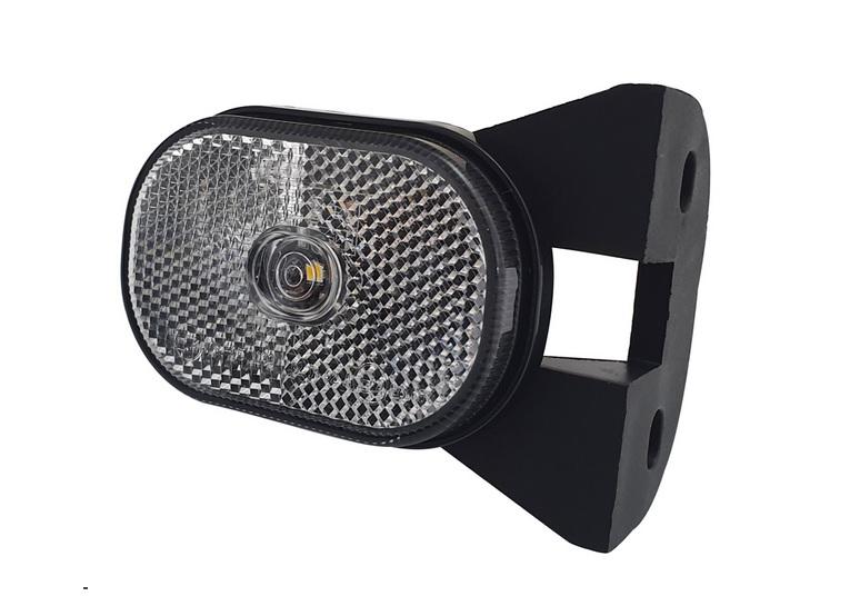 LED predné pozičné svetlo AGADOS 12V s držiakom