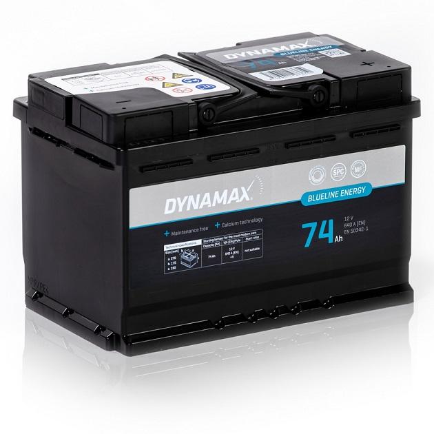 Dynamax Blueline 12V/74Ah 640A