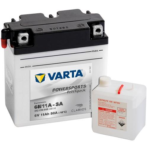 6V/12Ah 80A Varta 012014008