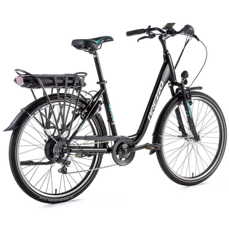 E-bike Leaderfox AREZZO GRANDE 36V/13Ah čierny lesklý rám:18