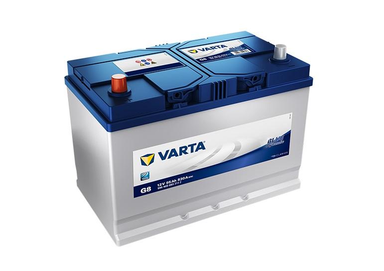 Varta Blue 12V/95Ah - 830A AZIA TYP - ĽAVÁ (595405083) G8