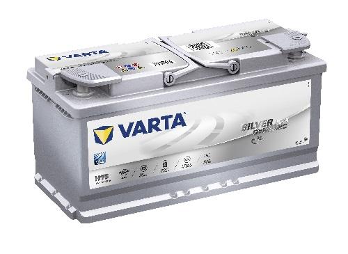12V/105Ah - 950A **Varta SILVER AGM 605901095** Štart-Stop