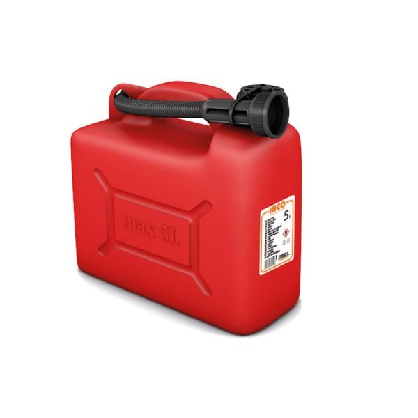 Bandaska - Kanister 5L na palivo červený (max4045)