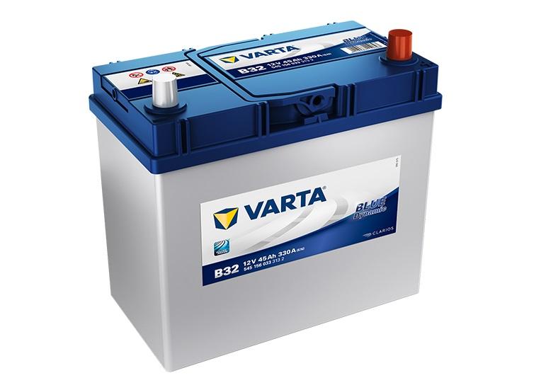 Varta Blue 12V/45Ah - 330A AZIA Typ - PRAVÁ (545156033) B32
