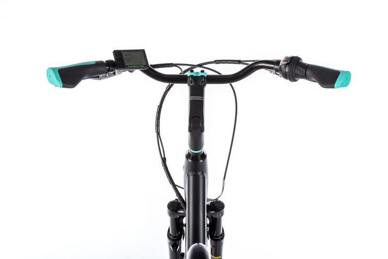 E-bike Leaderfox LATONA 36V/13Ah - čierny rám 16,5