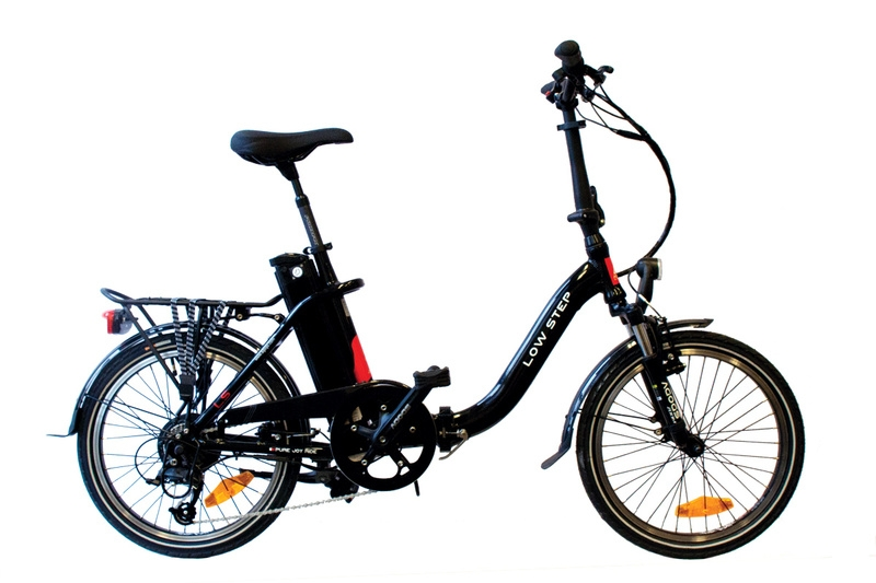 Skladací elektrobicykel Agogs LOWSTEP 36V/11Ah