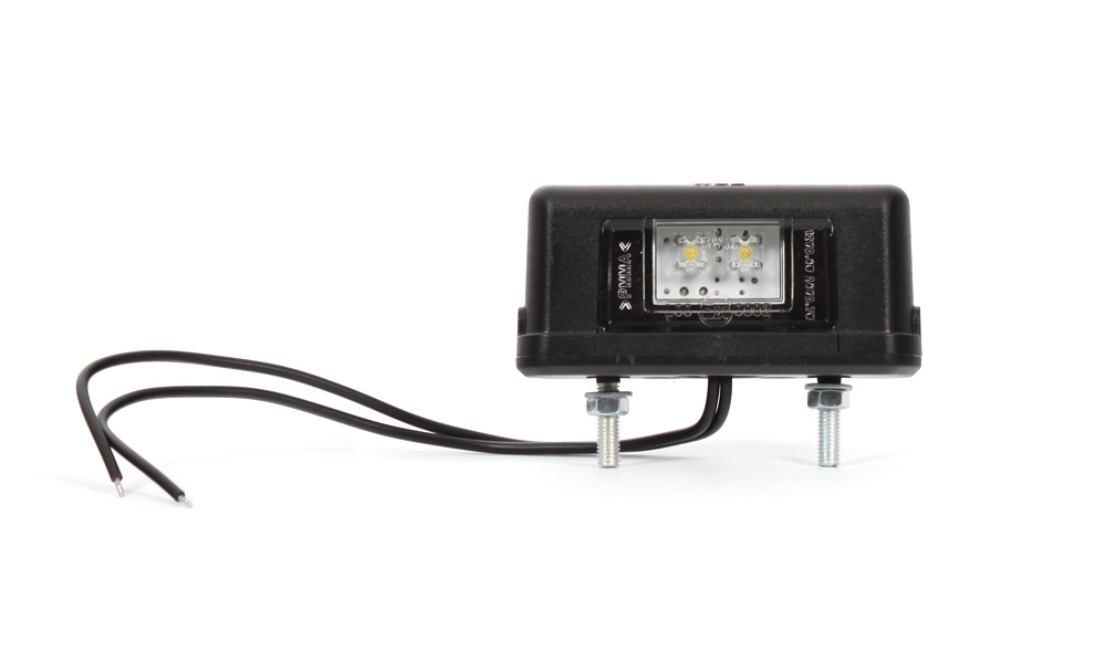 LED Osvetlenie ŠPZ 12/24V WAS W52 (1ks)