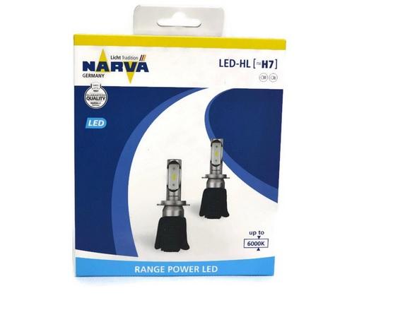 LED H7 Narva 12V 6000K (sada)