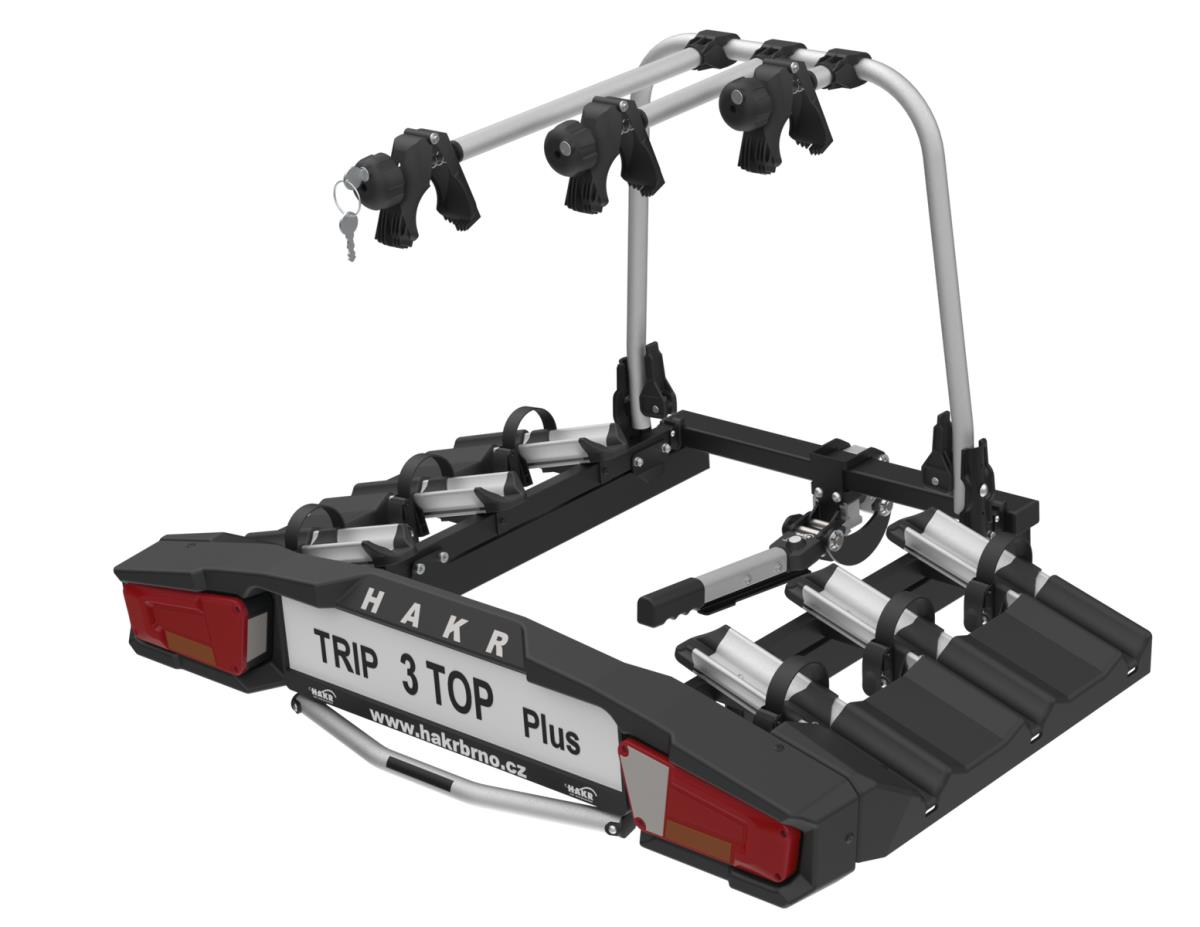 Nosič bicyklov Hakr TRIP 3 TOP PLUS na ťažné zariadenie