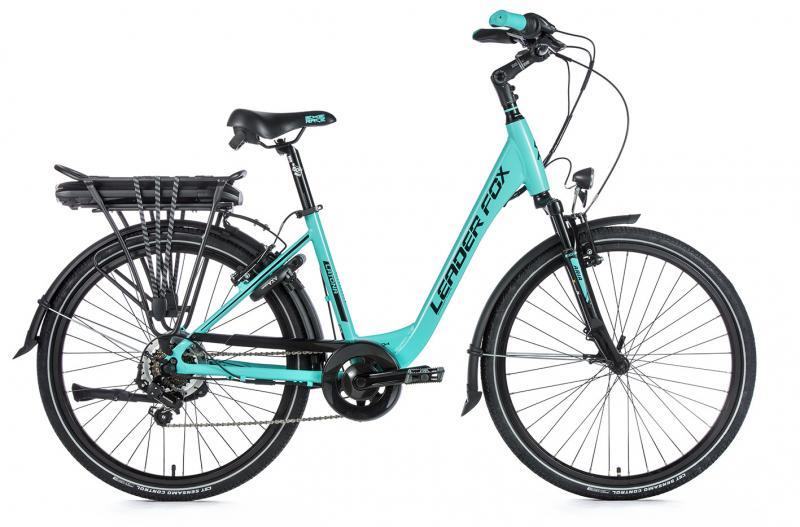 E-bike Leaderfox LATONA 36V/13Ah - Zelená, rám:16,5
