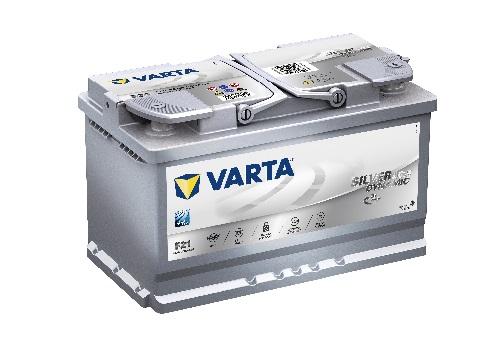 12V/80Ah - 800A **Varta SILVER AGM 580901080** Štart-Stop