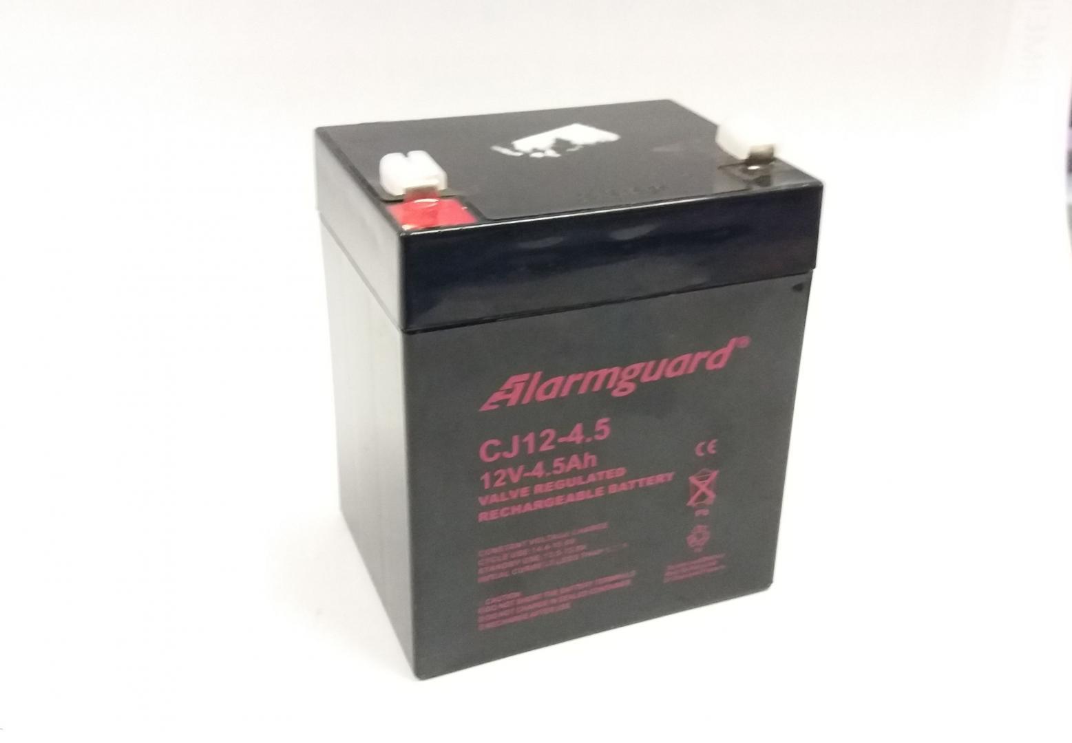 Vrla 12V/4,5Ah (CJ12-4,5) záložný zdroj gelový
