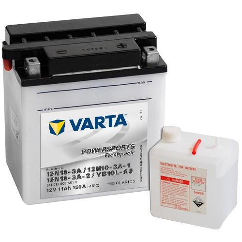 12V/11Ah 90A Varta 511012009