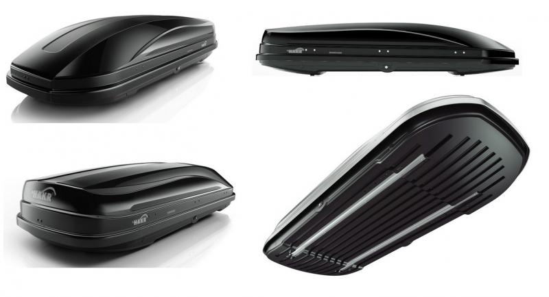 Box Hakr ML400 - čierny lesklý