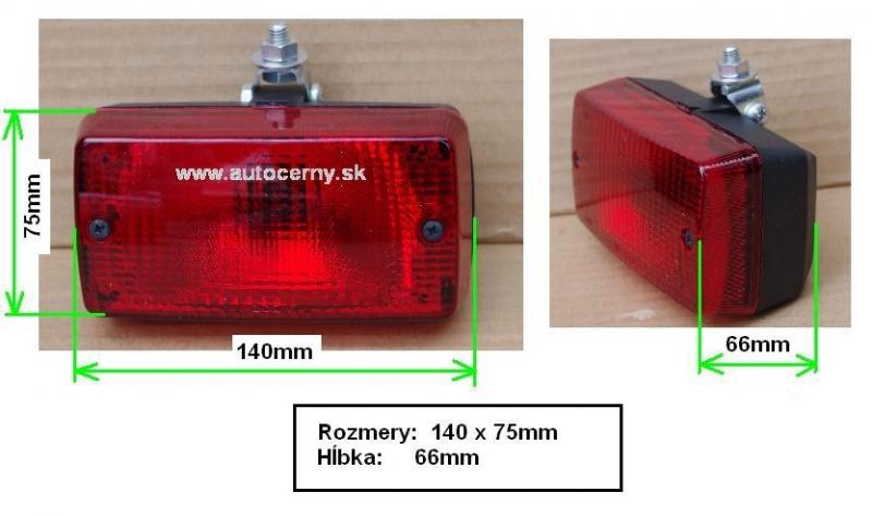 Hmlovka červená (140x75mm) 1ks