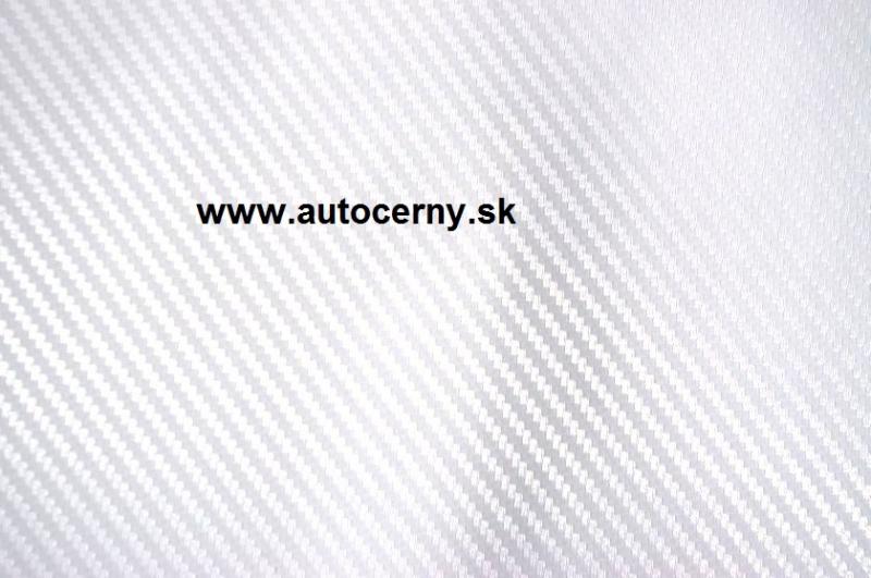 Karbonová fólia Biela 50x150cm