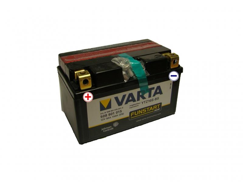 12V/8Ah - 150A **508 901 015** AGM