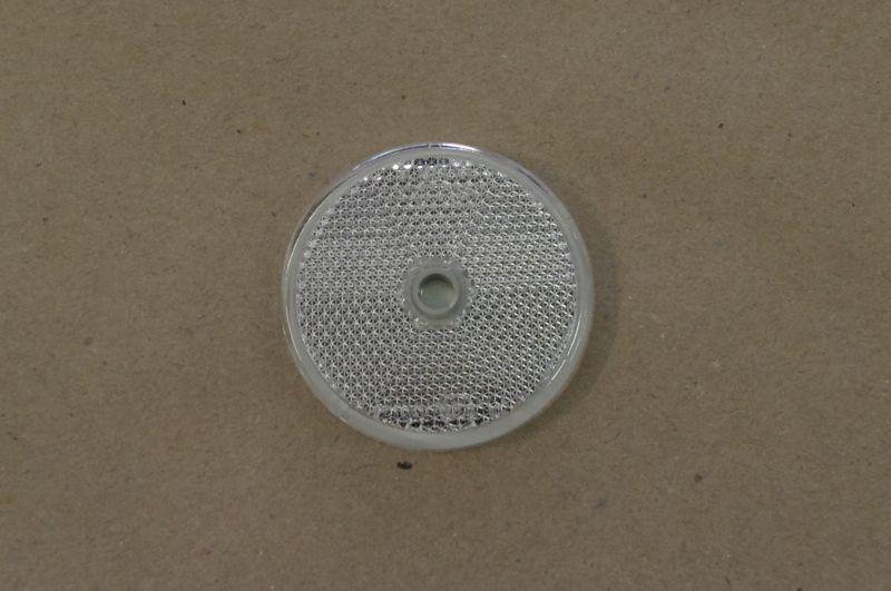 Odrazka biela d=60mm (1ks)