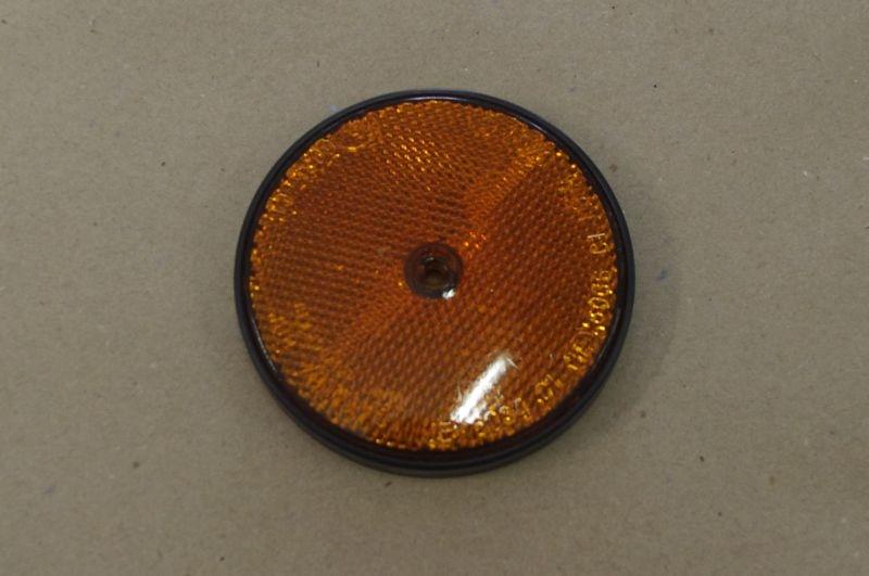 Odrazka oranžová d=86mm (1ks)