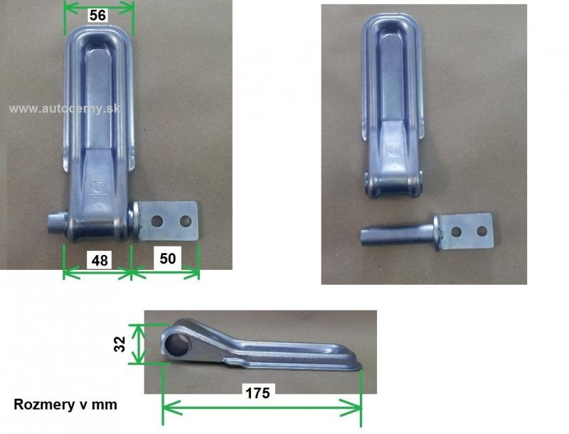 Pánt zadného/predného čela 175mm (1ks)